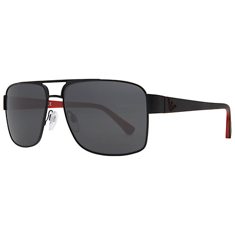 Buy Emporio Armani EA2002 Aviator Sunglasses Online at johnlewis.com