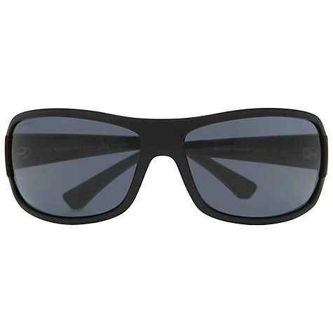 Buy Emporio Armani EA4012 506187 Wrap Around Sunglasses Online at johnlewis.com