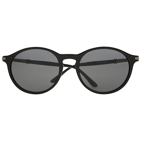 Buy Giorgio Armani  AR8009 Round Acetate Sunglasses Online at johnlewis.com