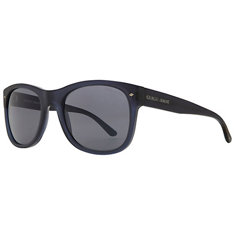 Buy Giorgio Armani AR8008 5001R5 Square Sunglasses Online at johnlewis.com