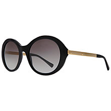 Buy Giorgio Armani AR8012 Oversized Round Sunglasses Online at johnlewis.com