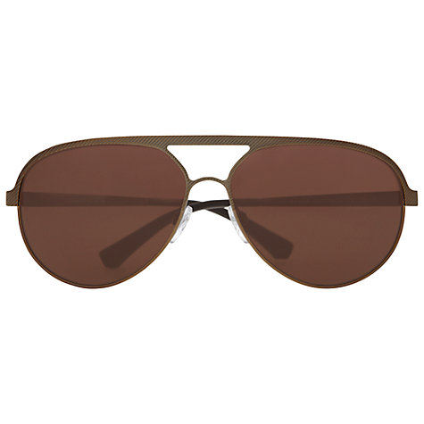 Buy Emporio Armani EA2004 Aviator Sunglasses Online at johnlewis.com