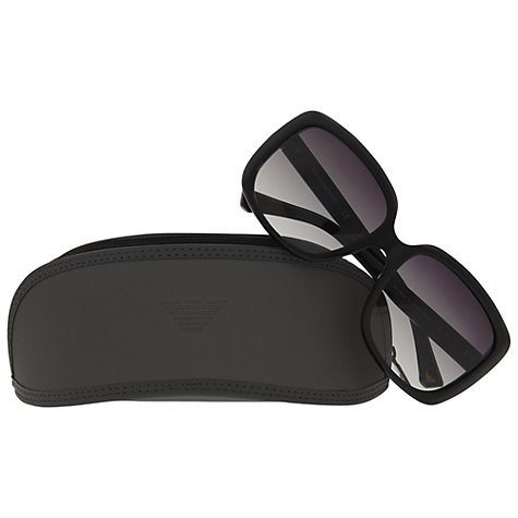 Buy Emporio Armani EA4008 Polarised Squared Sunglasses Online at johnlewis.com