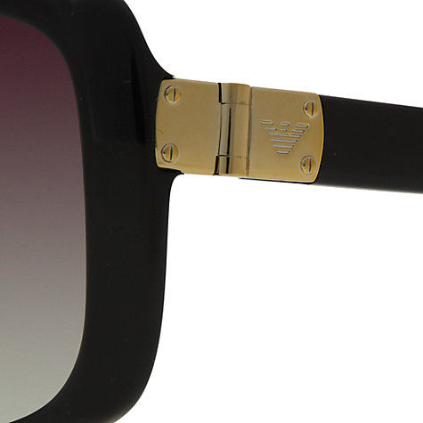 Buy Emporio Armani EA4008 Squared Sunglasses Online at johnlewis.com