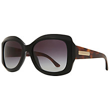 Buy Giorgio Armani AR8002 Oversized Thick Framed Square Sunglasses Online at johnlewis.com