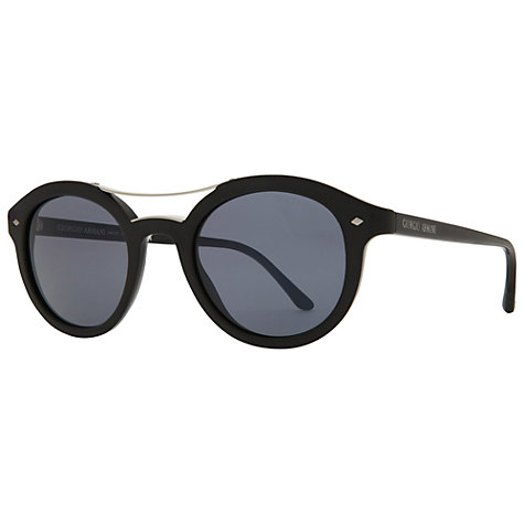 Buy Giorgio Armani AR8007 5001R5 Round Retro Style Sunglasses Online at johnlewis.com