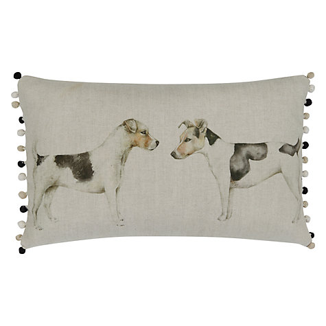 Buy Voyage Eddie and Teddy Cushion Online at johnlewis.com
