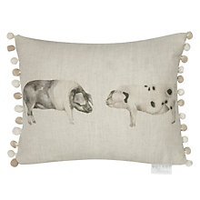 Buy Voyage Oink Cushion Online at johnlewis.com