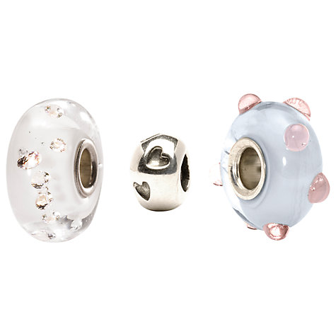Buy Trollbeads Royal Baby Bead Set Online at johnlewis.com