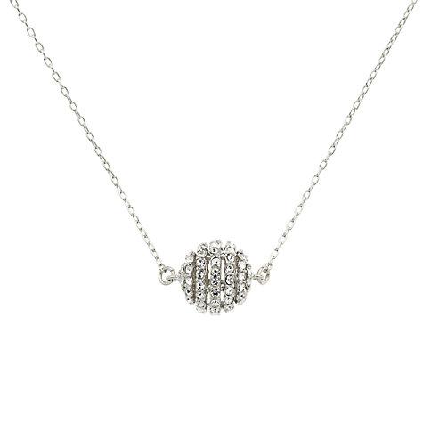 Buy Finesse Swarovski Crystal Ball Pendant Online at johnlewis.com