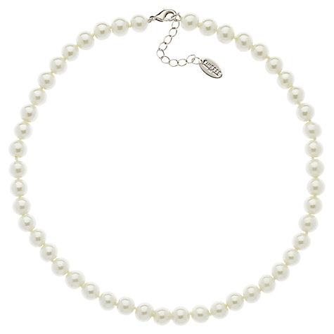 Buy Finesse Classic 8mm Pearl Necklace Online at johnlewis.com