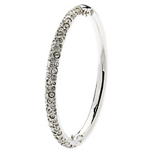 Buy Cachet London Swarovski Crystal Pave Hinged Bangle Online at johnlewis.com
