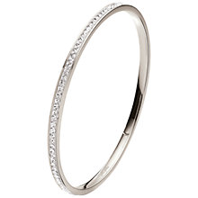 Buy Folli Follie Match and Dazzle Silver Plated Crystal Bangle Online at johnlewis.com