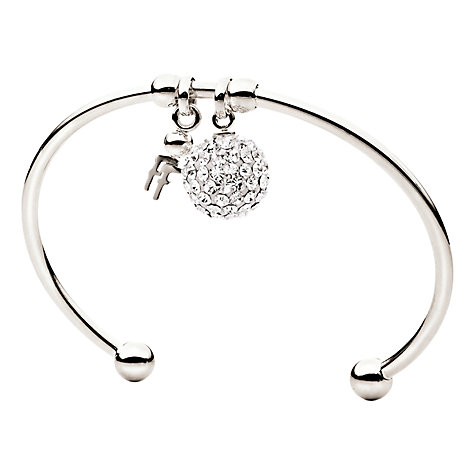 Buy Folli Follie Crystal Sphere Torc Bangle Online at johnlewis.com