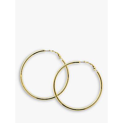 Melissa Odabash Large Polished Hoop Earrings