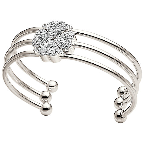 Buy Folli Follie Heart4Heart Triple Row Bangle Online at johnlewis.com