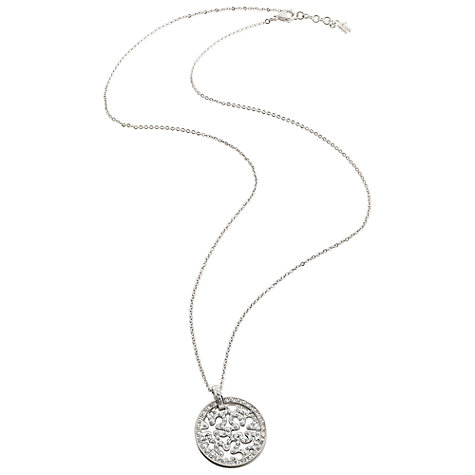 Buy Folli Follie Fiorissimo Crystal Flower Pendant Online at johnlewis.com