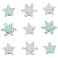 Buy Creative Party Star and Snowflake Sugar Cake Toppers Online at johnlewis.com