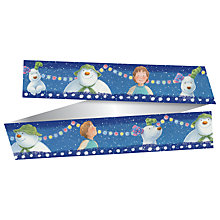 Buy Creative Party Snowman and Snowdog Cake Ribbon Online at johnlewis.com