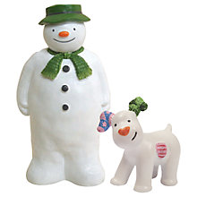 Buy Creative Party Snowman and Snowdog Cake Topper Online at johnlewis.com