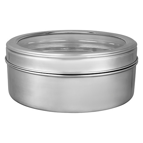 Buy House by John Lewis Stainless Steel Cake Tin, Dia.24cm Online at johnlewis.com