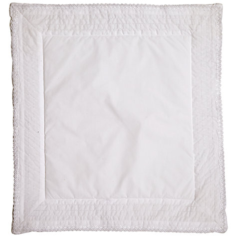 Buy John Lewis Heritage Bumper and Crib Coverlet Set, White Online at johnlewis.com