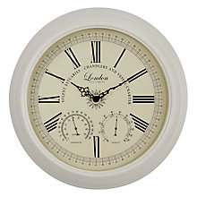 Buy Beaulieau Clock, Dia.42cm, Online at johnlewis.com