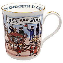 Buy Alison Gardiner Coronation Anniversary Mug Online at johnlewis.com