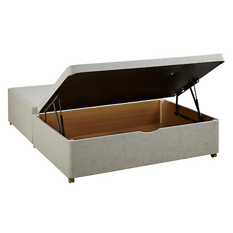 Buy Silentnight End Divan Storage Bed, Double Online at johnlewis.com