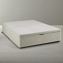 Buy Silentnight End Ottoman Divan Base, Kingsize Online at johnlewis.com