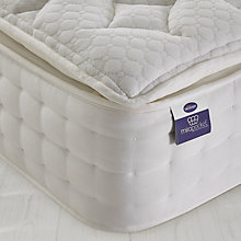 Buy Silentnight Miracoil Pocket 2000 Latex Mattress, Double Online at johnlewis.com