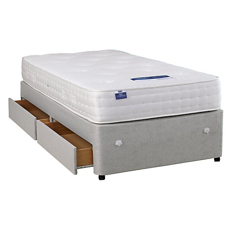 Buy Silentnight Sprung Edge 2 Drawer Divan Base, Single Online at johnlewis.com