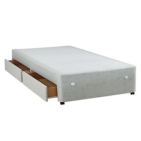 Buy Silentnight Sprung Edge 2 Drawer Divan Storage Bed Single John Lewis