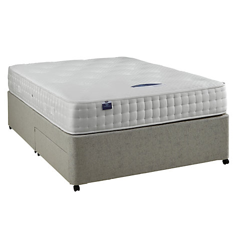 Buy Silentnight Non Sprung 2 Drawer Divan Base, Double Online at johnlewis.com