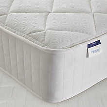 Buy Silentnight Miracoil Memory Mattress, Double Online at johnlewis.com