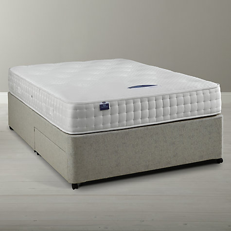 Buy Silentnight Sprung Edge 2 Drawer Divan Base, Double Online at johnlewis.com