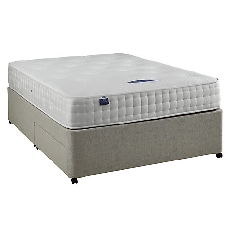 Buy Silentnight Sprung Edge 2 Drawer Divan Storage Bed, Double Online at johnlewis.com
