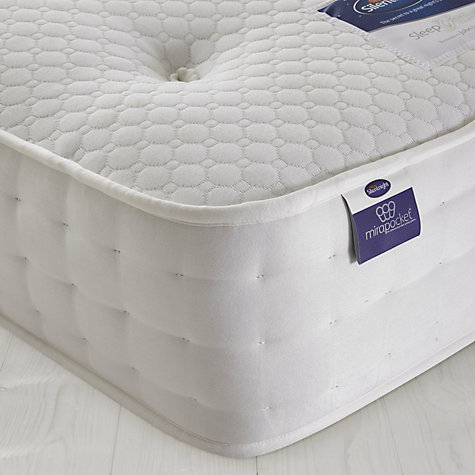 Buy Silentnight Mirapocket 1200 Memory Mattress, Single Online at johnlewis.com
