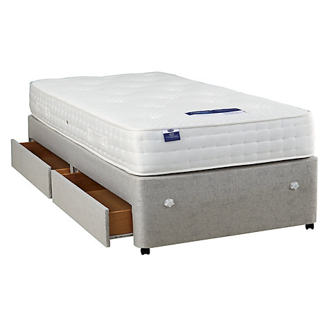 Buy Silentnight Non Sprung 2 Drawer Divan Storage Bed Single John Lewis