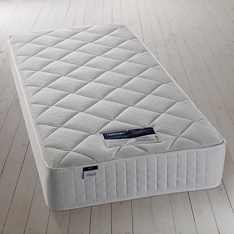 Buy Silentnight Special Miracoil Memory Foam Mattress, Single Online at johnlewis.com