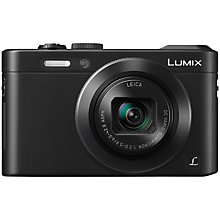 "Buy Panasonic DMC-LF1 Digital Camera, HD 1080i, 12.1MP, 7.1x Optical Zoom, NFC, Wi-Fi, EVF, 3"" LCD Screen with FREE Case Online at johnlewis.com"