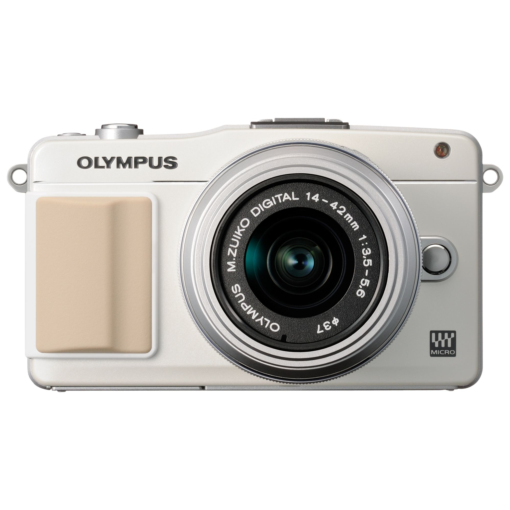 Olympus E-PM2 Compact System Camera with 14-42 mm Telephoto Zoom Lens