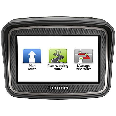 Buy TomTom RIDER GPS Navigation System for Motorbikes Online at johnlewis.com