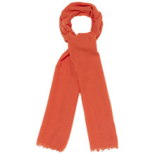 Buy Whistles Plain Scarf, Red Online at johnlewis.com