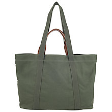 Buy Whistles Canvas Shopper Handbag Online at johnlewis.com