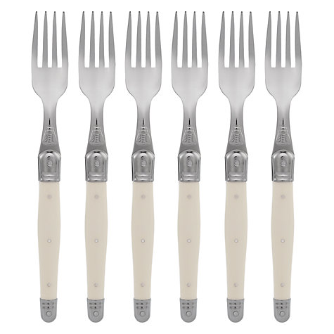Buy Laguiole Table Forks, Ivory, Set of 6 Online at johnlewis.com