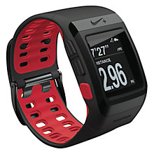 Buy Nike+ SportWatch Powered by TomTom GPS with Shoe Sensor Online at johnlewis.com