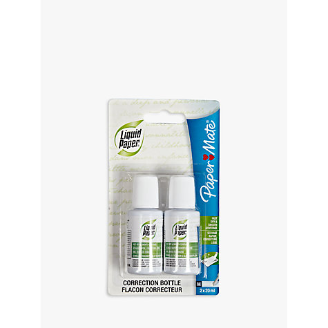 Buy Paper Mate Liquid Paper, Pack of 2 Online at johnlewis.com