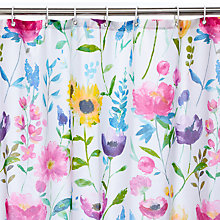 Buy bluebellgray Flower Field Shower Curtain Online at johnlewis.com