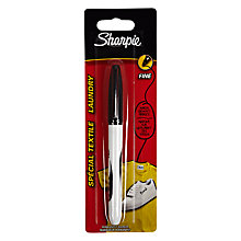 Buy Sharpie Laundry Marker, Black Online at johnlewis.com